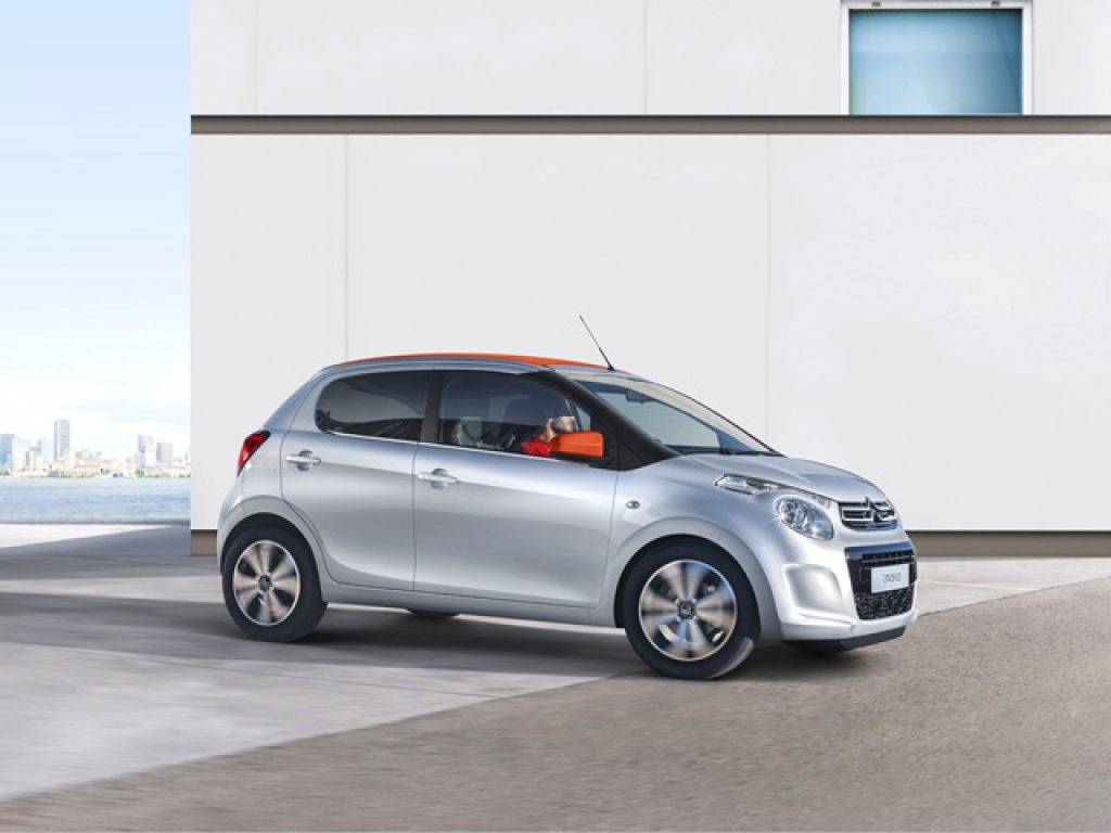 C1 CITROEN C1 VTi 72 5 porte Feel
